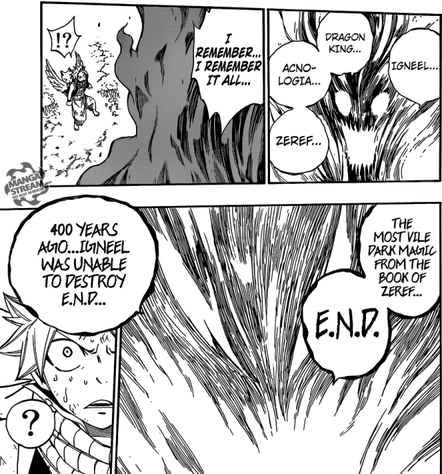 Fairy Tail chapter 353 - The E.N.D.