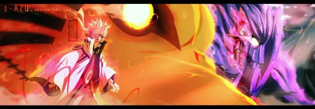 Naruto chapter 647 - He decided to move FORWARD - colour by i-azu (http://i-azu.deviantart.com)