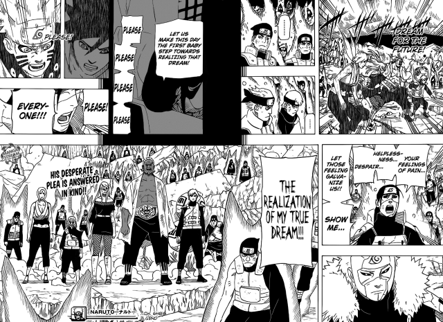 Naruto chapter 648 - Hashirama's dream