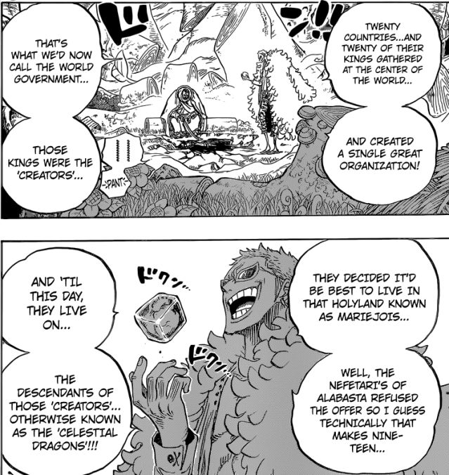 One Piece chapter 722 - The Tenryuubito