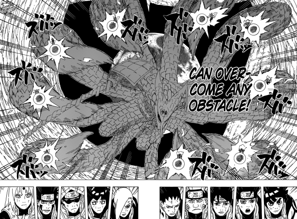 Naruto chapter 651 - These are my bonds