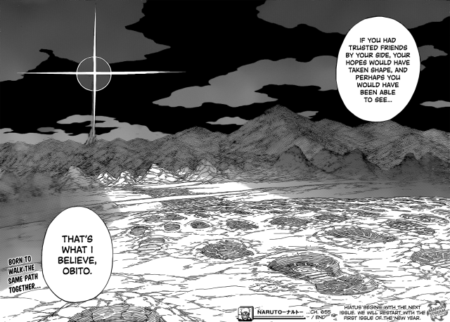 Naruto chapter 655 - The path to a new tomorrow