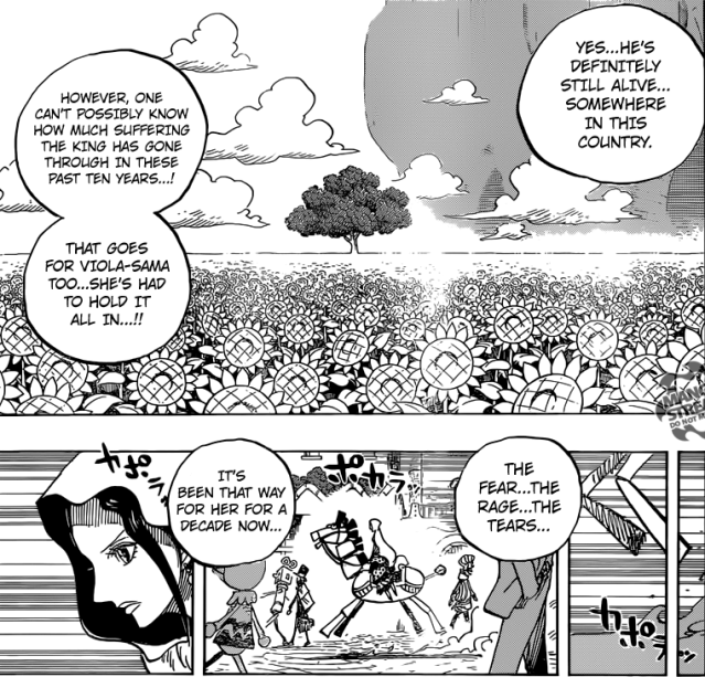 One Piece chapter 728 - The pain they had to endure