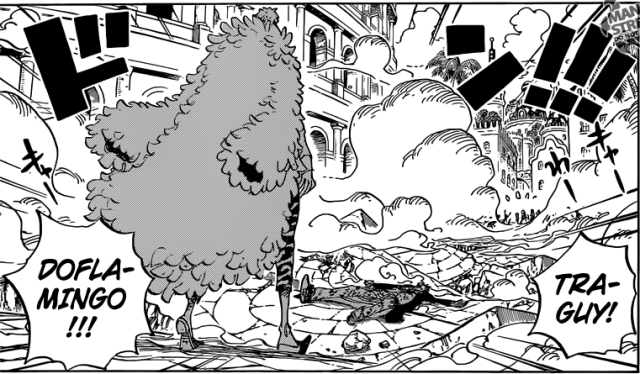 One Piece chapter 729 - Doflamingo