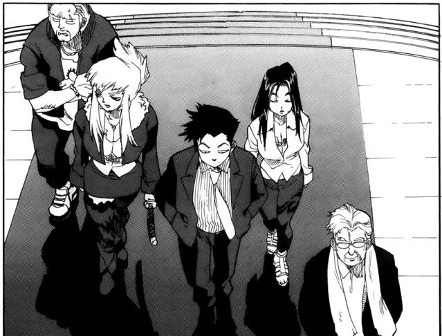Aiki-S chapter 3 - Bull, Veronica, Joukyuu, Akemi, Soutetsu