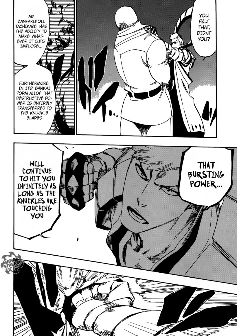 Bleach chapter 560 - Kensei's Bankai
