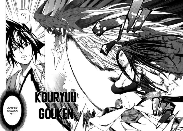 Dragons Rioting chapter 14 - Kyouka's Kouryuu Gouken