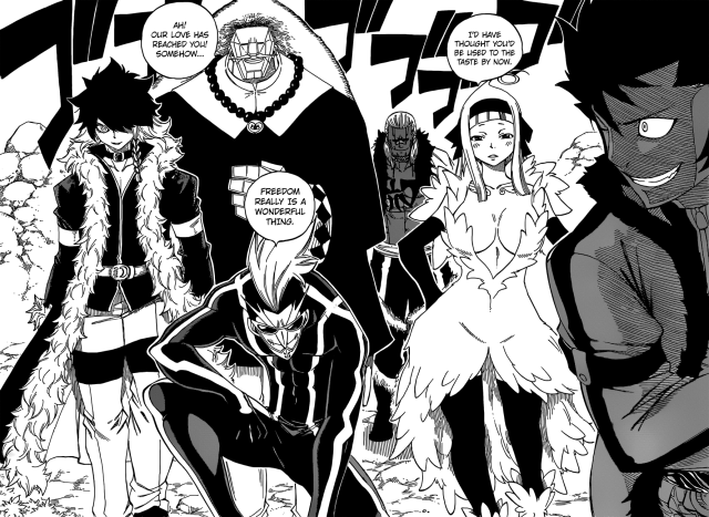 Fairy Tail chapter 364 - Oracion Seis free