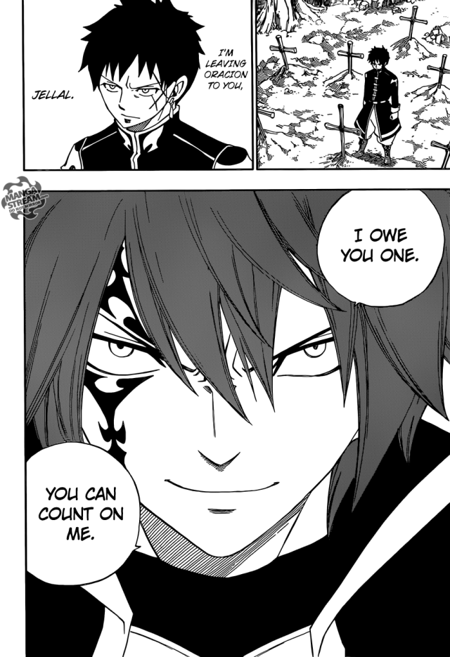 Fairy Tail chapter 364 - Jellal appears