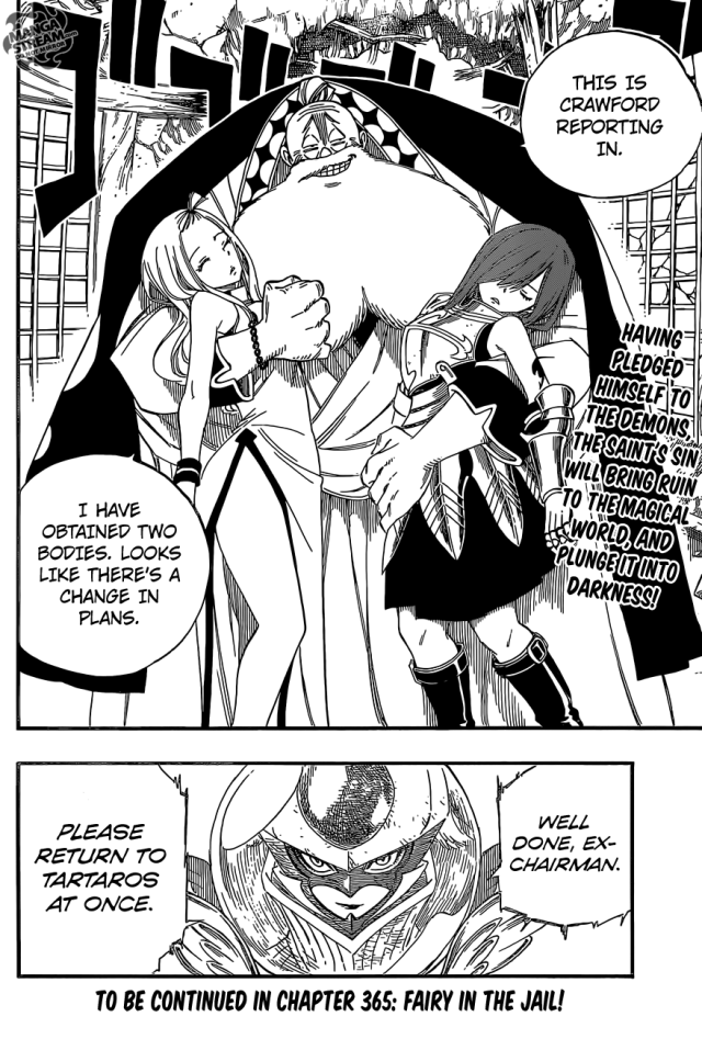 Fairy Tail chapter 364 - Crawfords darkness