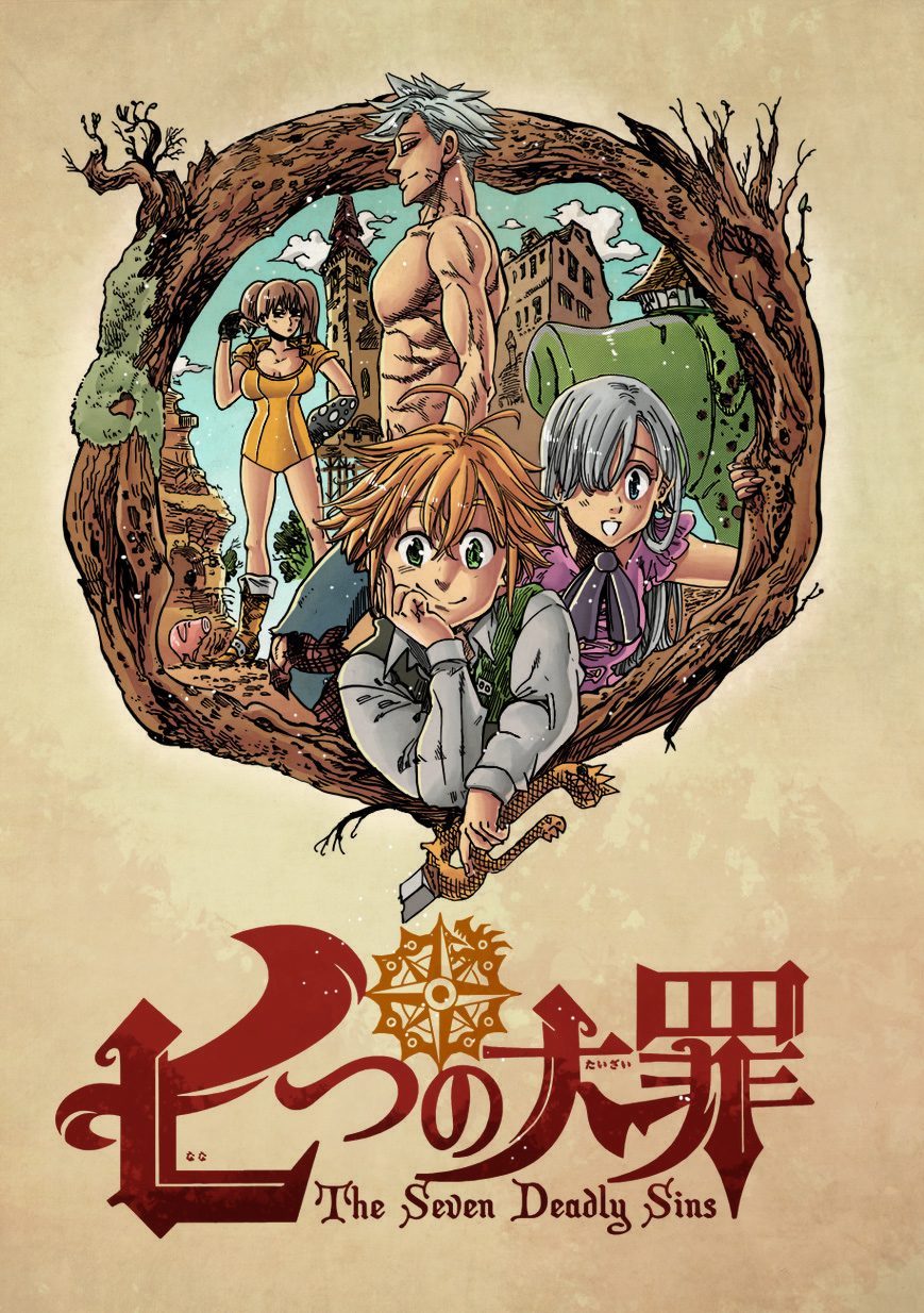 Nanatsu no Taizai chapter 13 - colour by Hitotsumami (http://hitotsumami.deviantart.com)