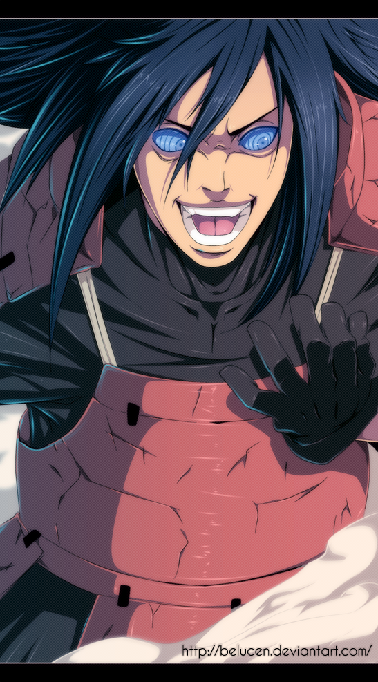 Naruto chapter 656 - Madara - colour by belucEn (http://belucen.deviantart.com)