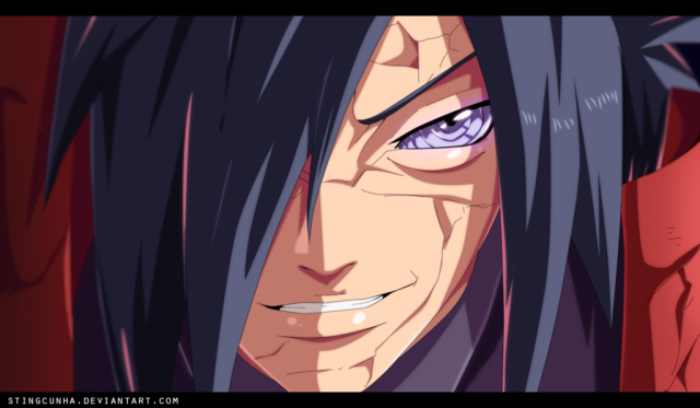 Naruto chapter 656 - Uchiha Madara - colour by StingCunha (http://stingcunha.deviantart.com)