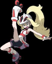 Pokémon X - Rumble Gym Leader, Korrina