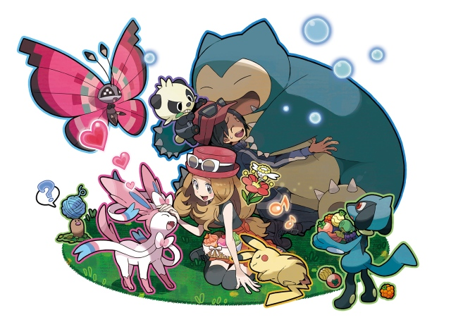 Pokemon Amie illustration