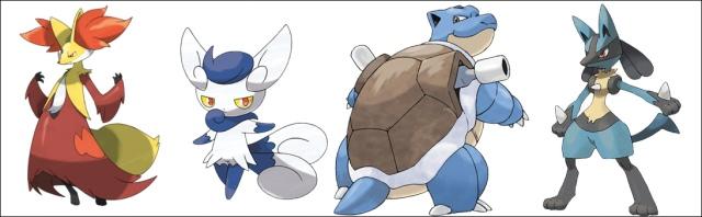 Syphin's Pokemon Team
