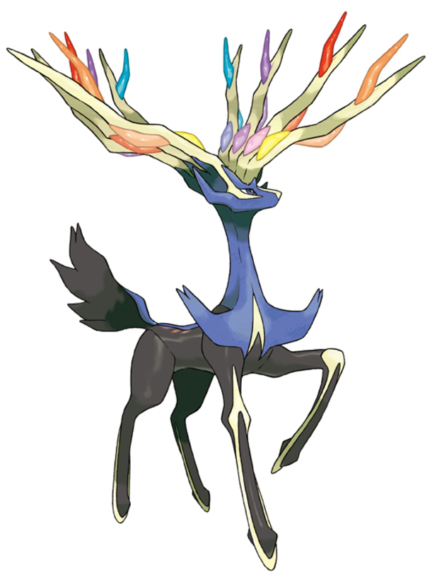 Pokemon X - The Legendary Pokémon Xerneas