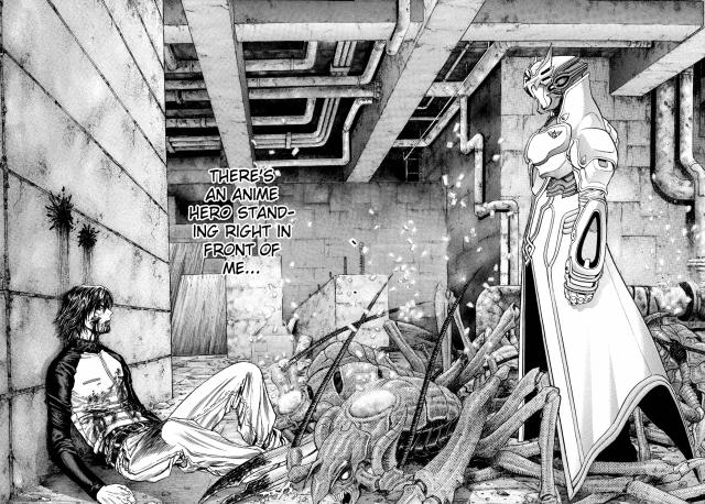Zetman volume 9 chapter 98 - Jin and Kouga