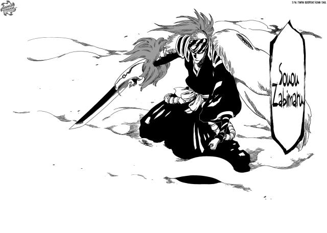 Bleach chapter 564 - Souou Zabimaru