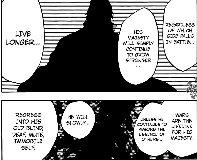Bleach chapter 565 - The tribute of souls