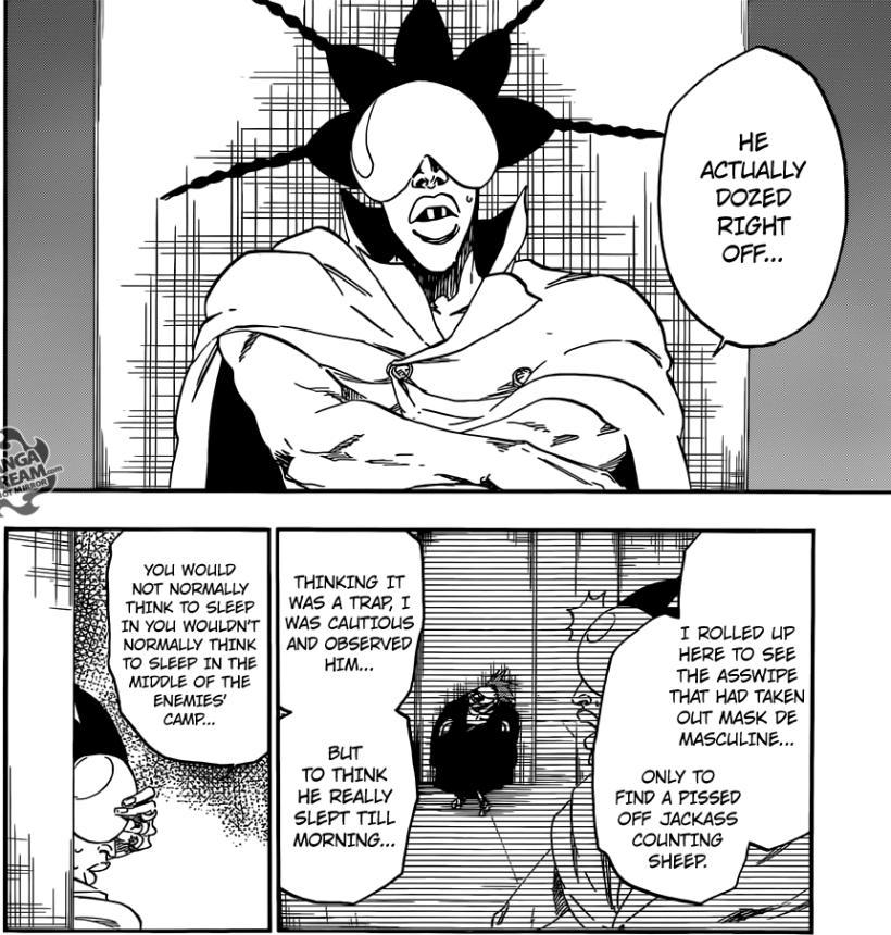 Bleach chapter 566 - Najahkoop's surprise
