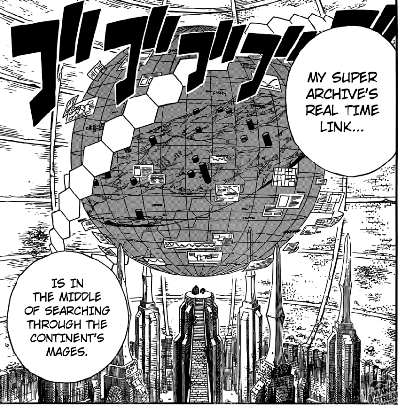 Fairy Tail chapter 368 - Crawford Super Archive