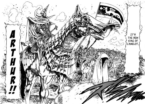 Nanatsu no Taizai chapter 62 - King Arthur
