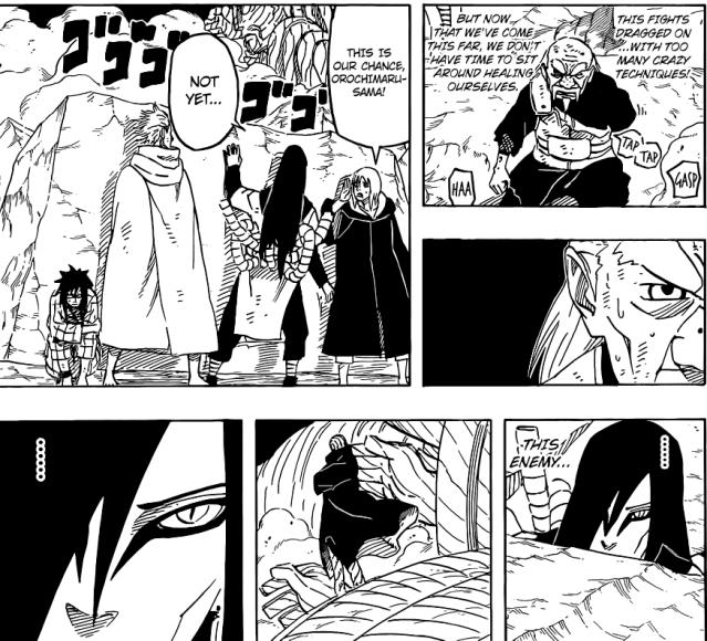 Naruto chapter 662 - Orochimaru