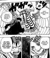 One Piece chapter 681 - Monet