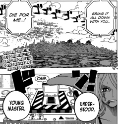 One Piece chapter 693 - Monet 1