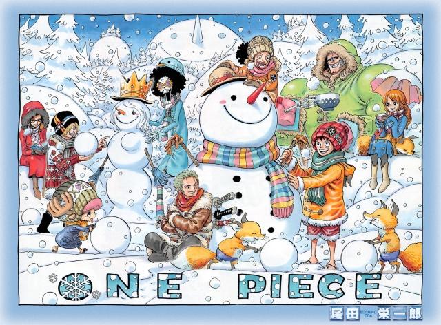 One Piece chapter 733 - Yuki-Onna?