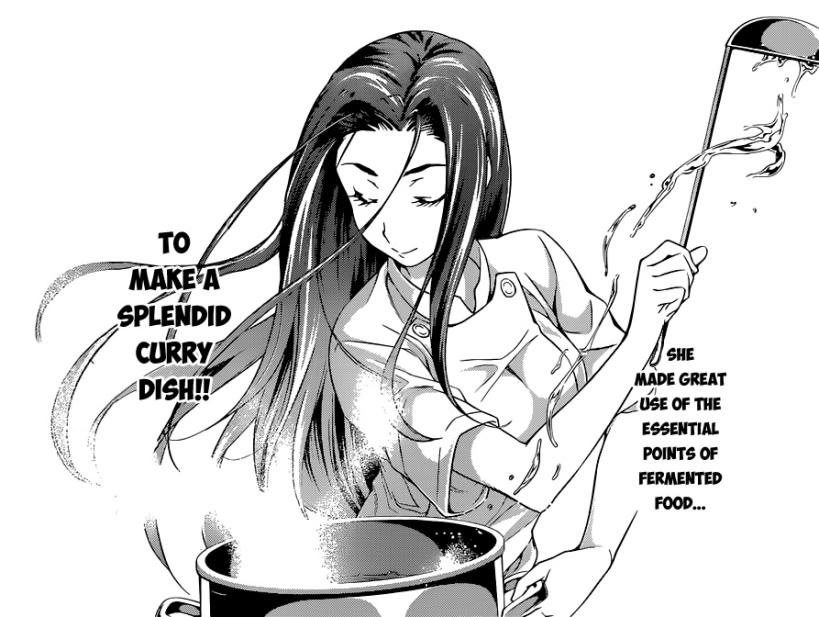 Shokugeki no Soma chapter 54 - Sakaki Ryouko, the fermented foods expert