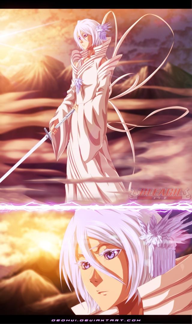 Bleach chapter 570 - Rukia's Bankai - colour by DEOHVI (http://deohvi.deviantart.com)