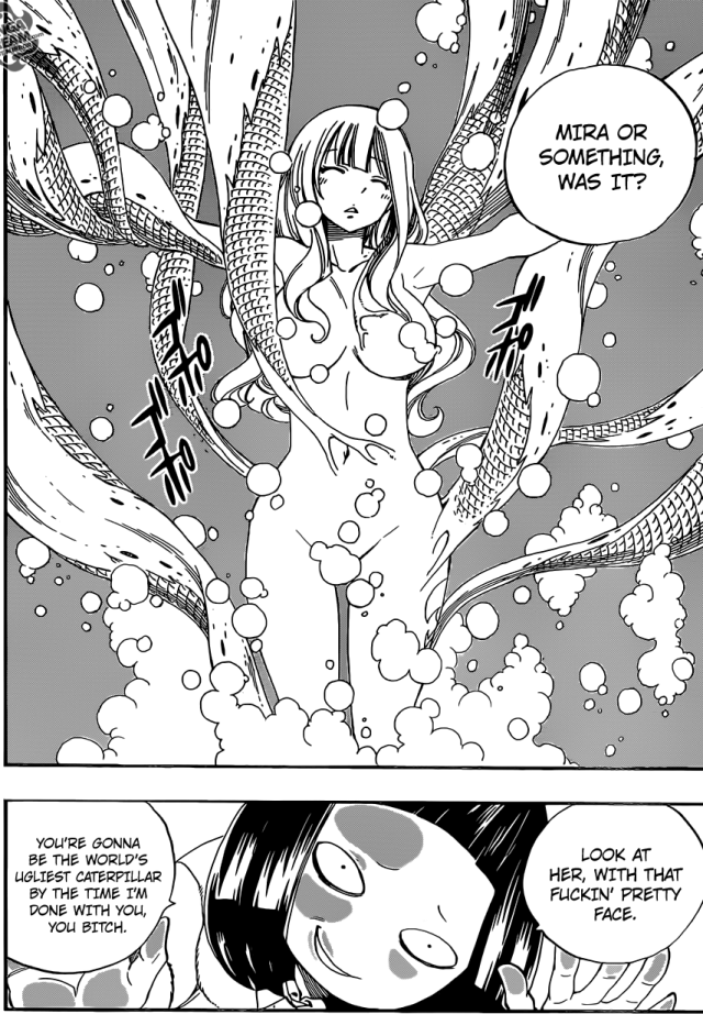 Fairy Tail chapter 370 - Mira in trouble
