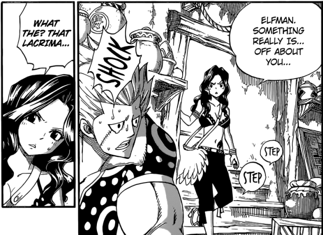 Fairy Tail chapter 370 - Cana suspicious of Elfman