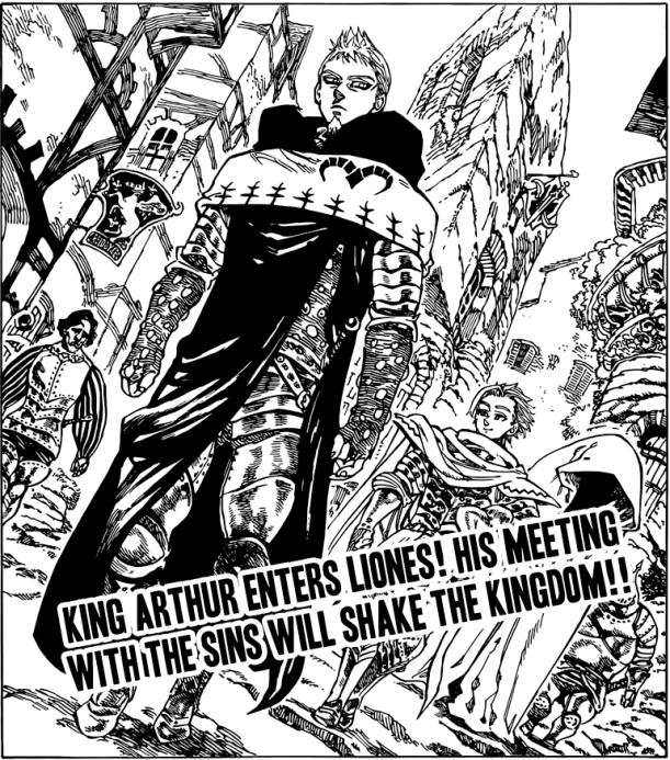 Nanatsu no Taizai chapter 64 - Arthur approaches