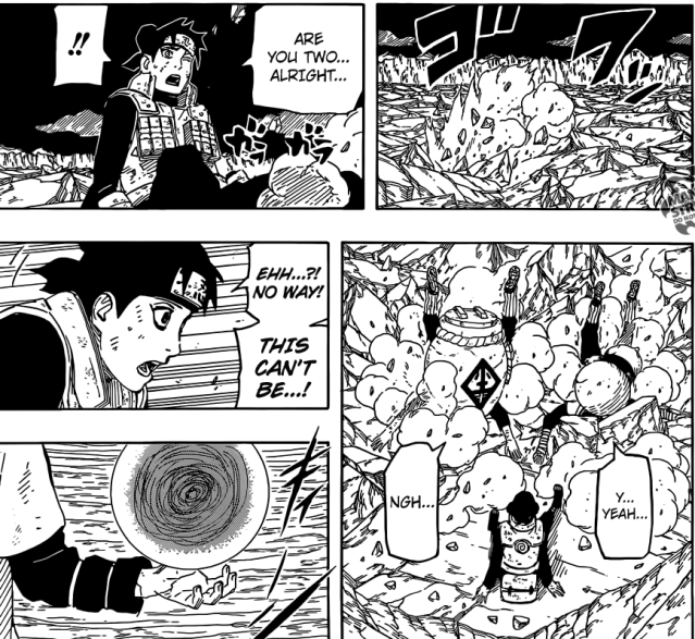 Naruto chapter 664 - The Benihisago and Kohaku no Jouhei