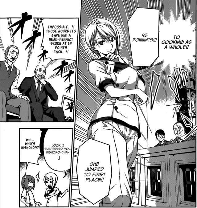 Shokugeki no Soma chapter 57 - Alice scores a 95