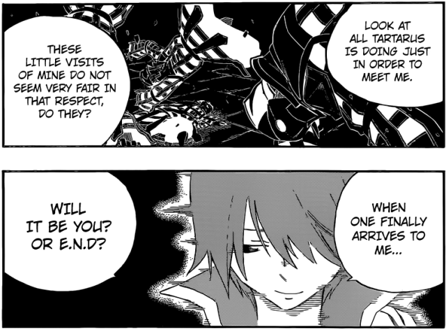 Fairy Tail chapter 373 - Zeref and Natsu