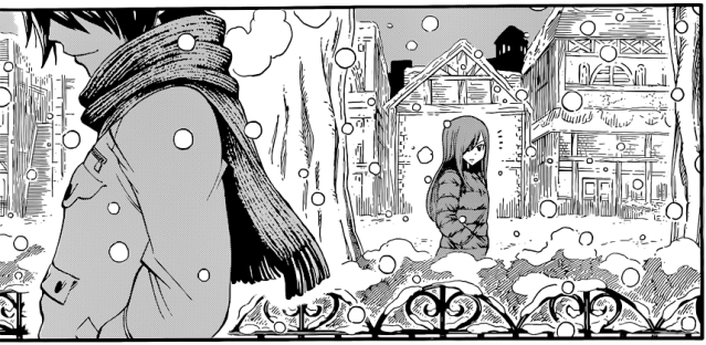 Fairy Tail chapter 376b Special - Gray's acceptance of Juvia's present