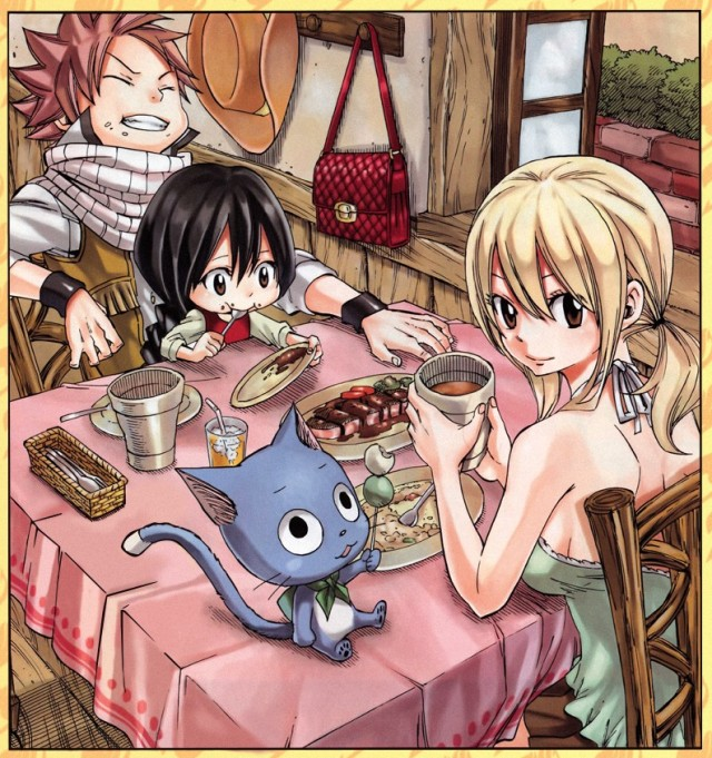 Fairy Tail chapter 378b Side Story - cleaning by Ulquiorra90 (http://ulquiorra90.deviantart.com)