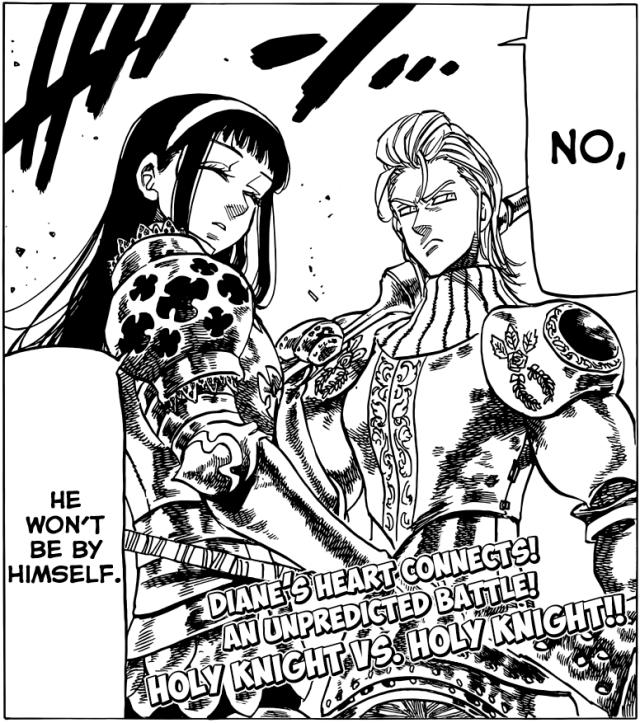 Nanatsu no Taizai chapter 67 - Geera and Hauser stand up