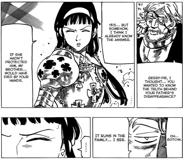 Nanatsu no Taizai chapter 68 - Helbram's giving Geera her answer