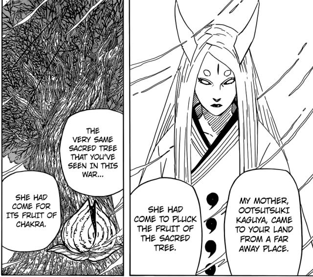 Naruto chapter 670 - Ootsutsuki Kaguya