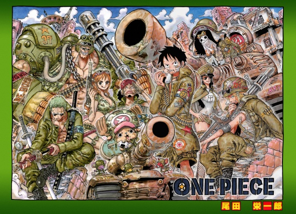 One Piece chapter 741 - color spread