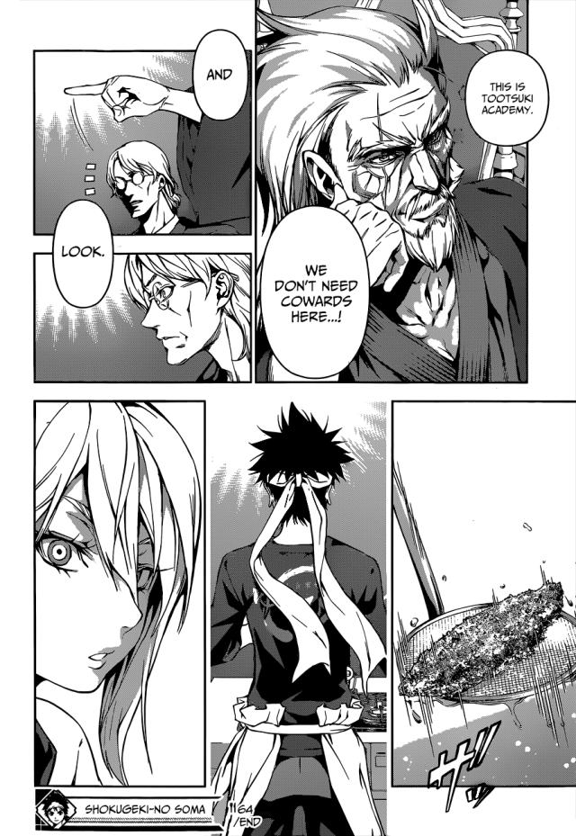 Shokugeki no Soma chapter 63 - Souma's unmoved by Alice's talents