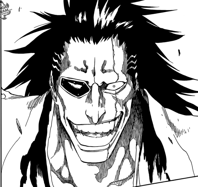 Bleach chapter 577 - Kenpachi enthralled