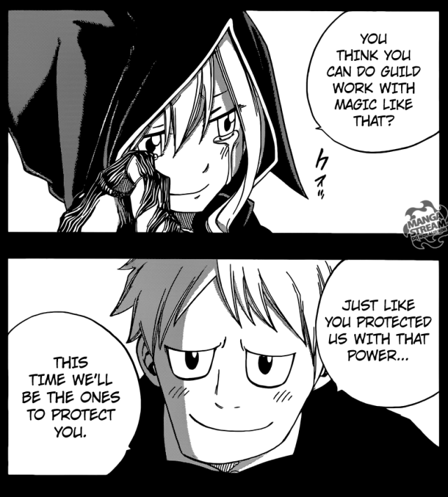 Fairy Tail chapter 381 - Mirajane saved by her family