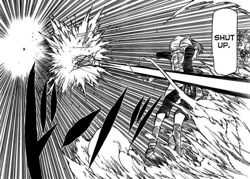 Nanatsu no Taizai chapter 72 - King goes on the offensive