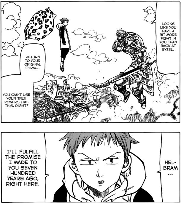 Nanatsu no Taizai chapter 72 - King and Helbram